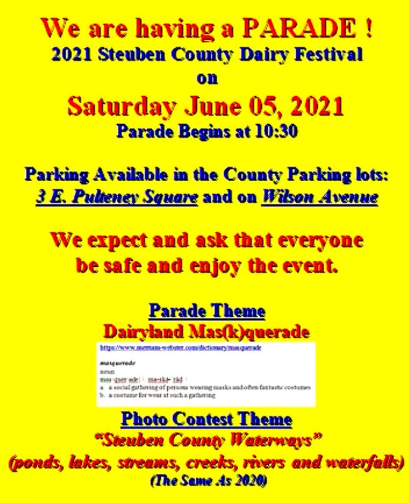 2021 06 05 Parade 834x1024 - Steuben County Dairy Festival Parade and Events Schedule