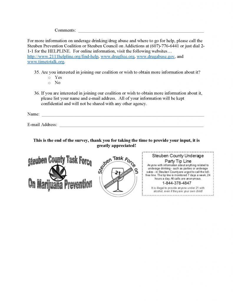 2021 Adult Perception Survey FINAL Page 7 791x1024 - Steuben Prevention Coalition Adult Perception Survey Returns