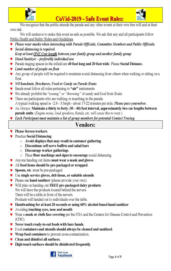 2021 DF Press Release Page 4 647x1024 - Steuben County Dairy Festival Parade and Events Schedule