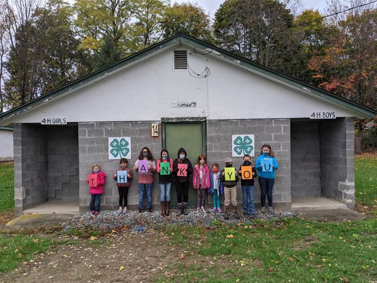 4h bathroom - CCE Steuben Exceeds FLXGives Day Goal