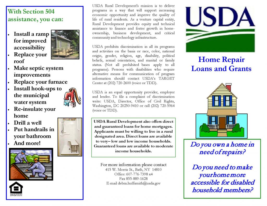 504brochure 1 Page 1 1024x791 - USDA Loan and Grant Programs Offer Homeowners Help