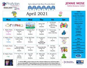 Addison April Calendar 2021 300x232 - Addison April Calendar 2021
