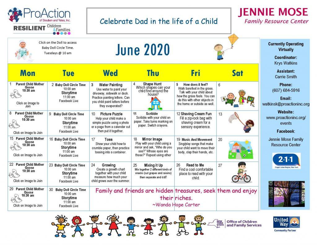 Addison FRC Calendar June 2020 1024x791 - Addison Family Resource Center Calendar (June)