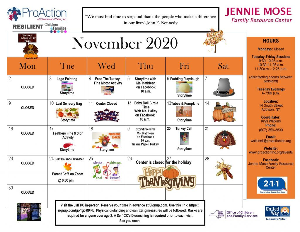 Addison FRC November 2020 1 1024x791 - Jennie Mose Family Resource Center Calendar (November)