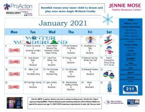 Addison JMFRC Calendar January 2021 300x232 - Addison JMFRC Calendar January 2021