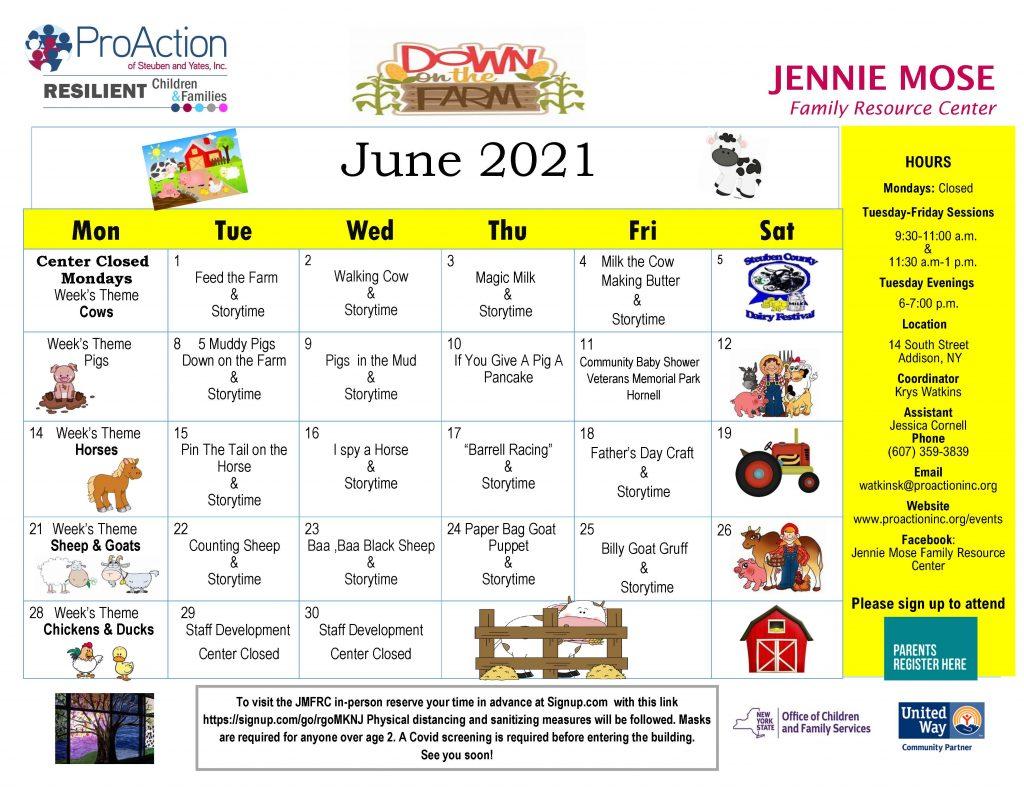 Addison JMFRC June Calendar2021 1024x791 - ProAction Family Resource Center Calendars (June)