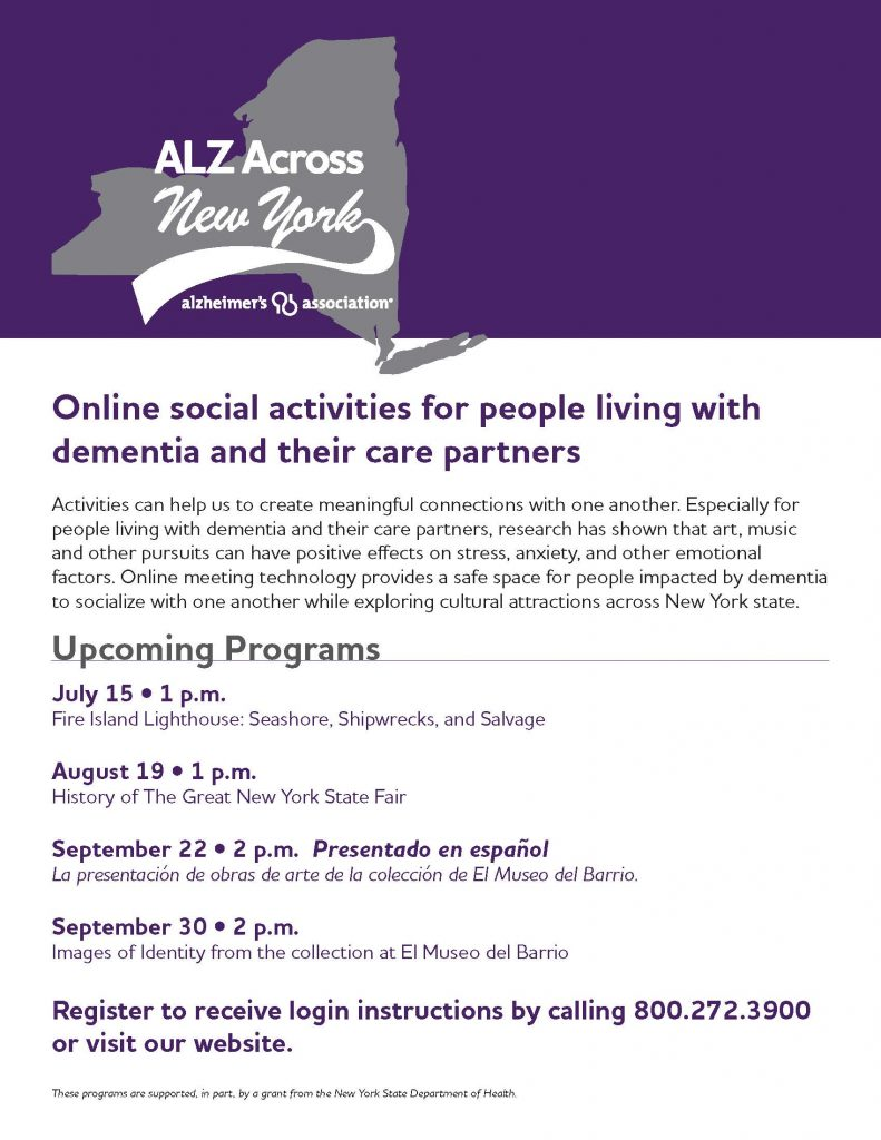 Alz Across NY Q1 2020 FINAL 791x1024 - Alzheimer's Association Resources and Upcoming Events