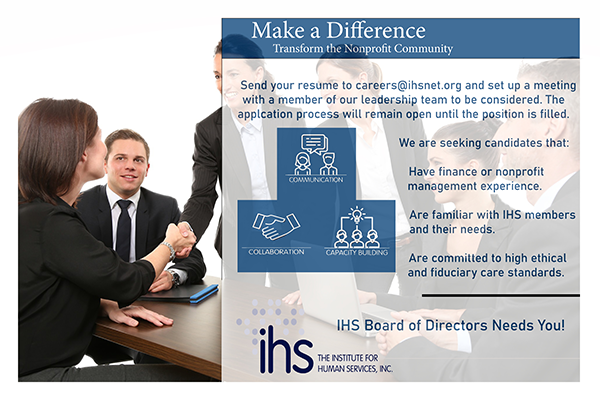 AnotherBoard - Join the IHS Board of Directors