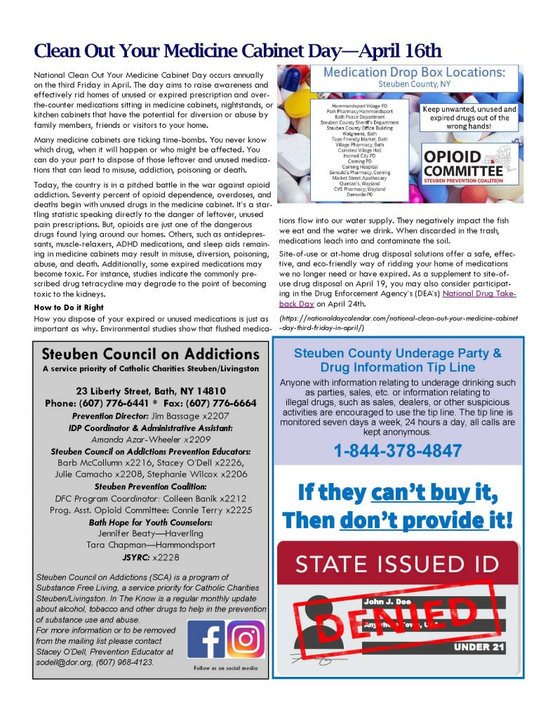 April Page 2 1 791x1024 - Steuben Council On Addictions - In the Know (April)