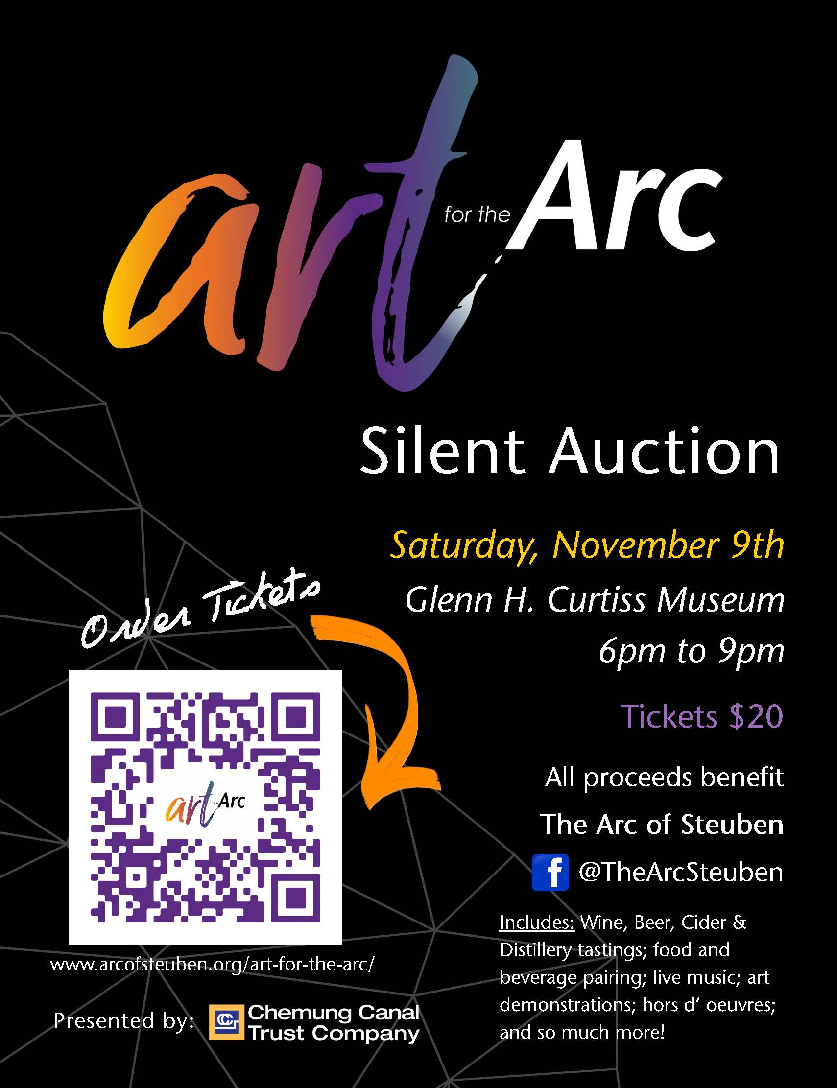 Art poster - Art for the Arc Silent Auction