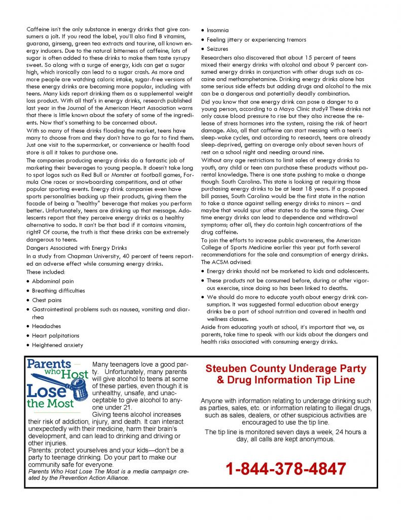 August 1 Page 3 791x1024 - Steuben Council on Addictions - In the Know (August)