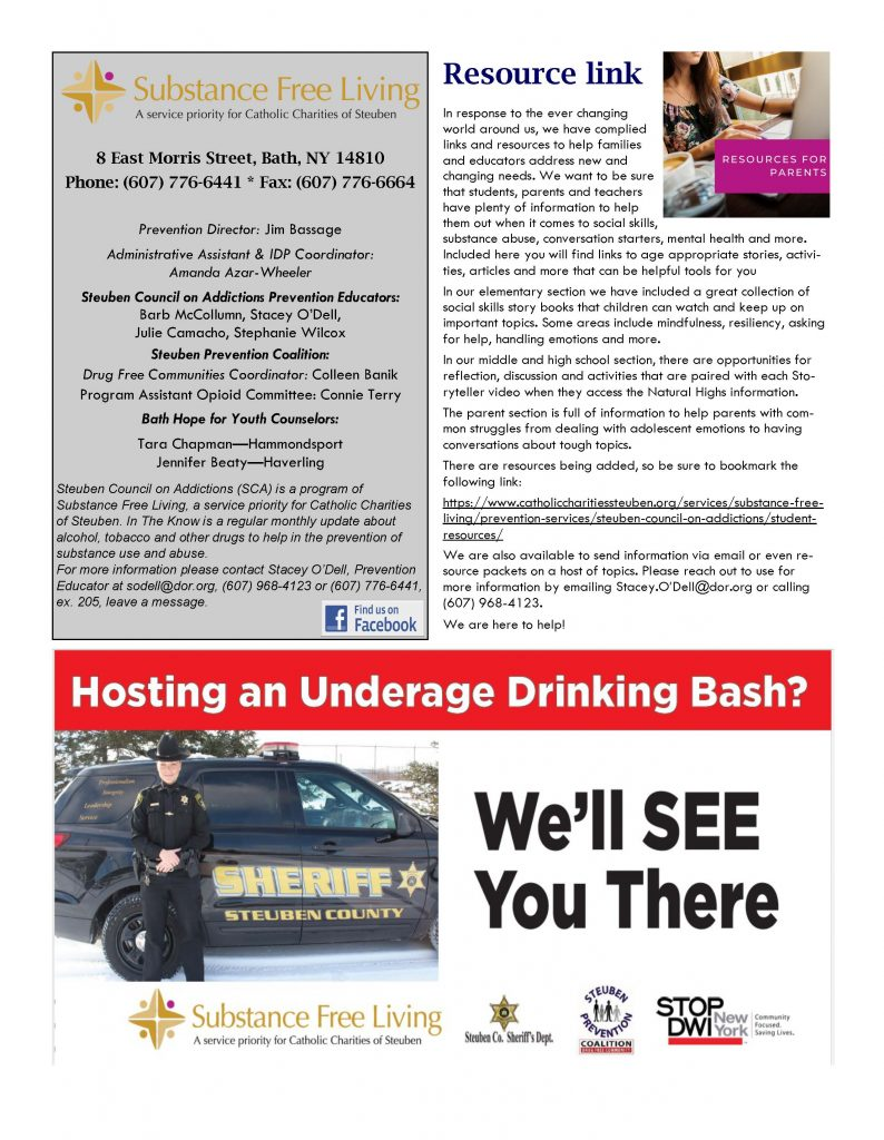 August 1 Page 4 794x1024 - Steuben Council on Addictions - In the Know (August)