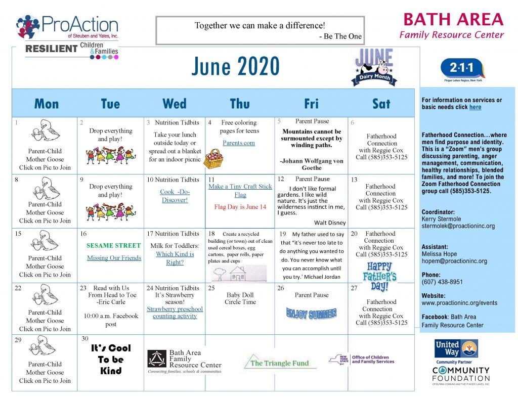 Bath FRC Calendar June 2020 1024x791 - Bath Family Resource Center Calendar (June)