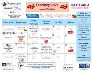 Bath FRC February Calendar 2021 300x232 - Bath FRC February Calendar 2021