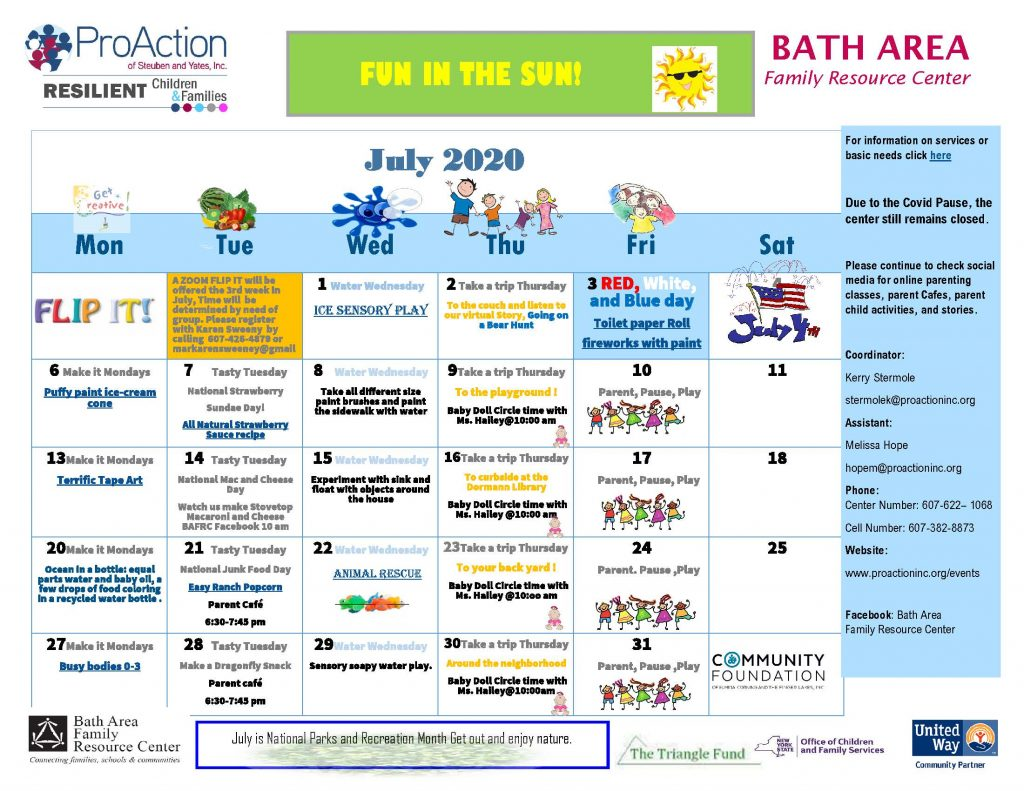 Bath FRC July Calendar 2020 1024x791 - Resilient Children and Families Community Calendars