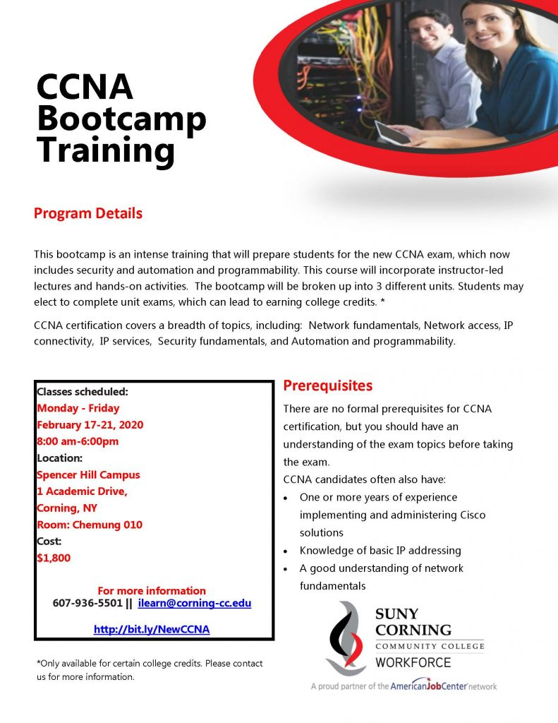 CCNA Bootcamp 791x1024 - CCC Workforce offers CCNA Training