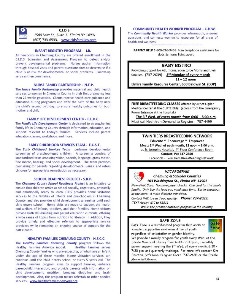 CURRENT DECEMBER NEWSETTER Page 3 792x1024 - CIDS Parenting Newsletter (December)