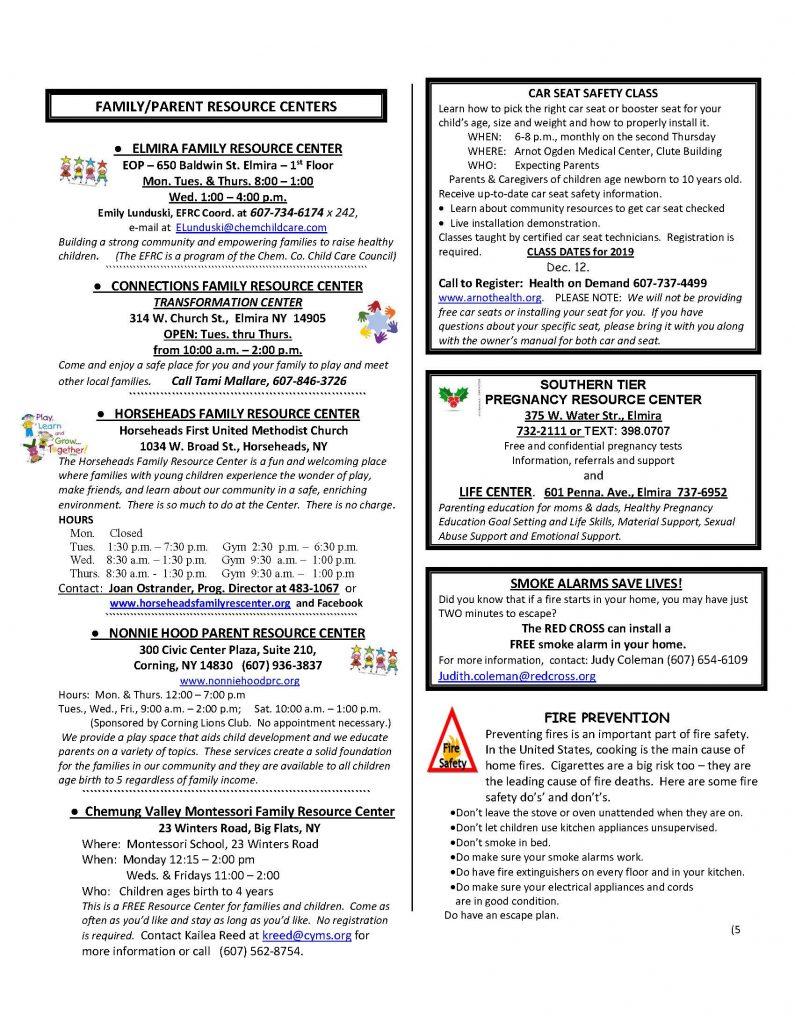 CURRENT DECEMBER NEWSETTER Page 5 795x1024 - CIDS Parenting Newsletter (December)