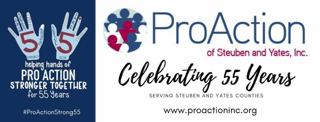Celebrating 55 Years 1024x390 - Message from the CEO: ProAction of Steuben and Yates, Inc. Celebrates 55 Years