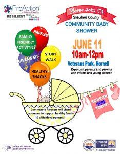 Community Baby Shower flyer 1 234x300 - Community Baby Shower flyer (1)