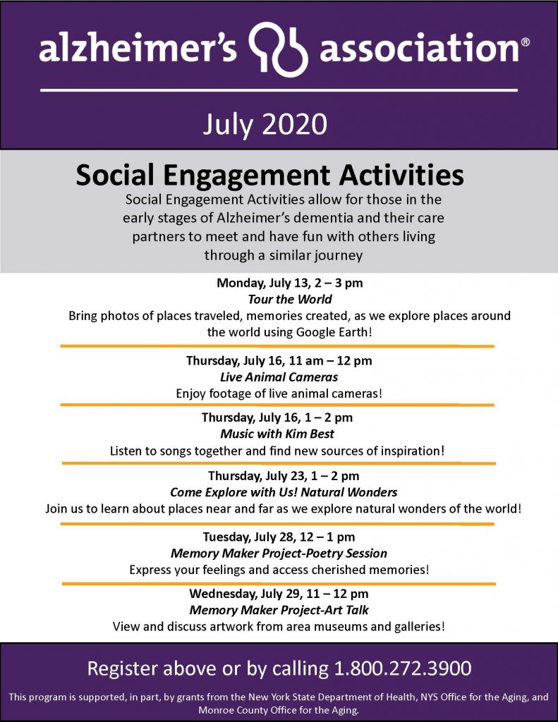Copy of FINAL July20 SocialActivitiesFlyer 002 791x1024 - Alzheimer's Association Resources and Upcoming Events