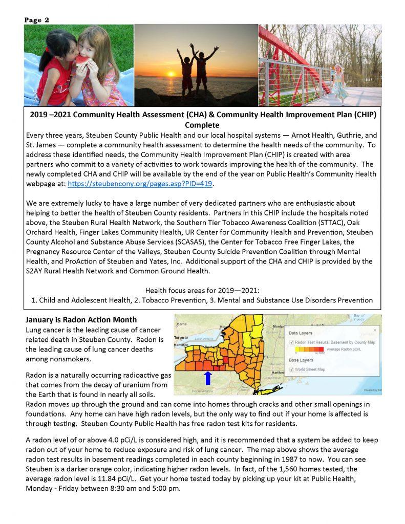 Dec 19 Jan 20 Wellness Matters Page 2 791x1024 - Steuben County Public Health - Wellness Matters