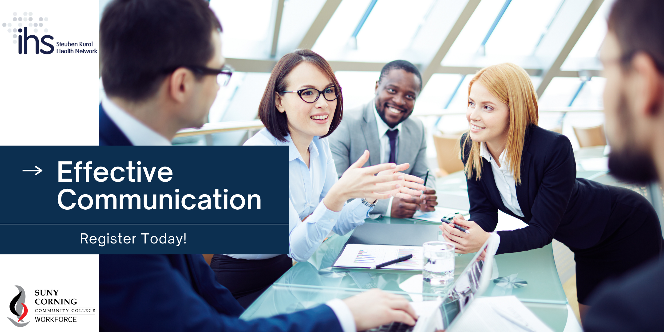 Effective Communication Eventbrite Cover - IHS Events