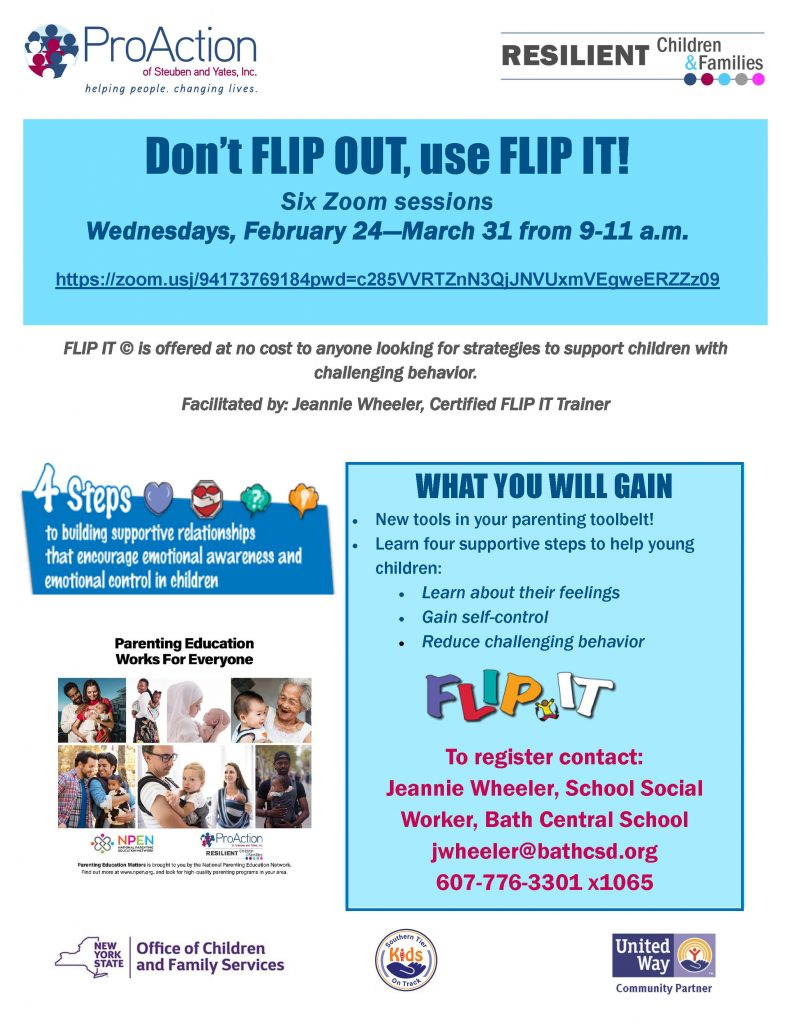 FLIPIT on Zoom 2 27 21 791x1024 - ProAction Resilient Children & Families Events in February