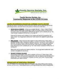 Family Service Society Inc response to COVID 19 Page 1 232x300 - Family Service Society Inc - response to COVID-19_Page_1