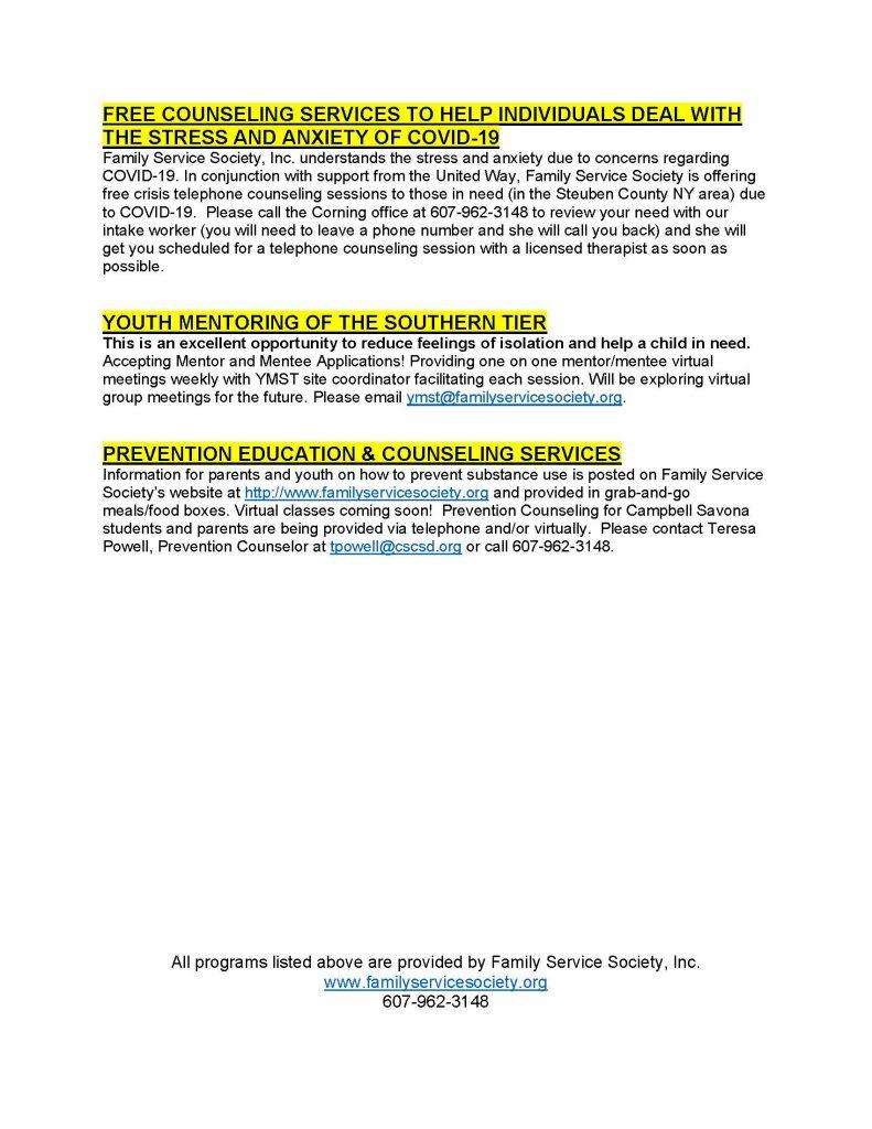 Family Service Society Inc response to COVID 19 Page 2 791x1024 - Family Services Society's COVID-19 Response