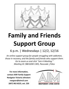 Family and Friends Support Group flyer 1 232x300 - Family and Friends Support Group flyer (1)