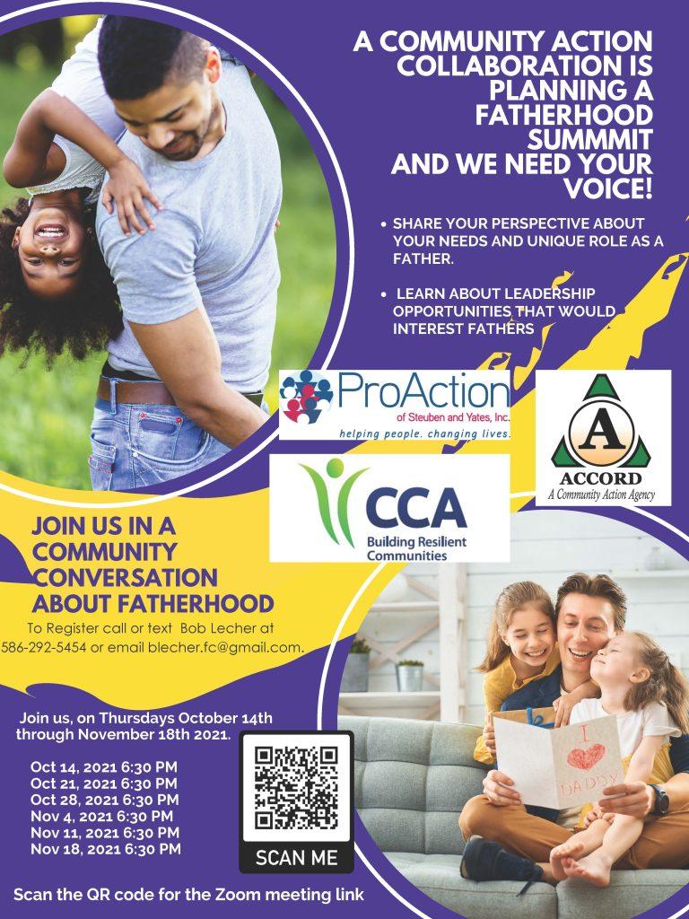 Fatherhood Community Cafes 10 2021 768x1024 - ProAction Offers Fatherhood Focused Events