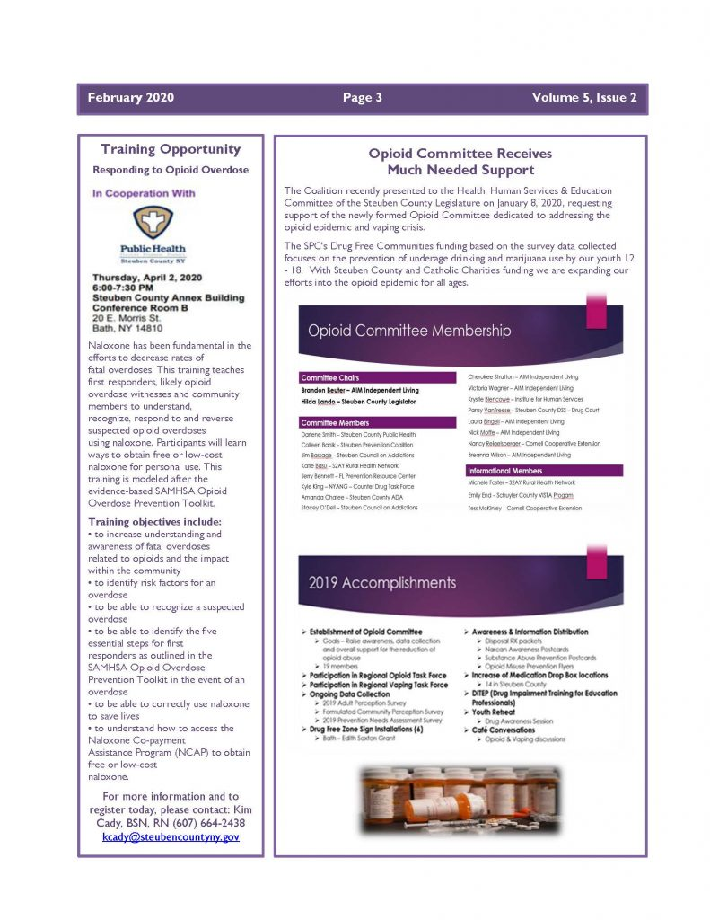 Feb 2020 Newsletter Page 3 791x1024 - Steuben Prevention Coalition - Ounce of Prevention (February)