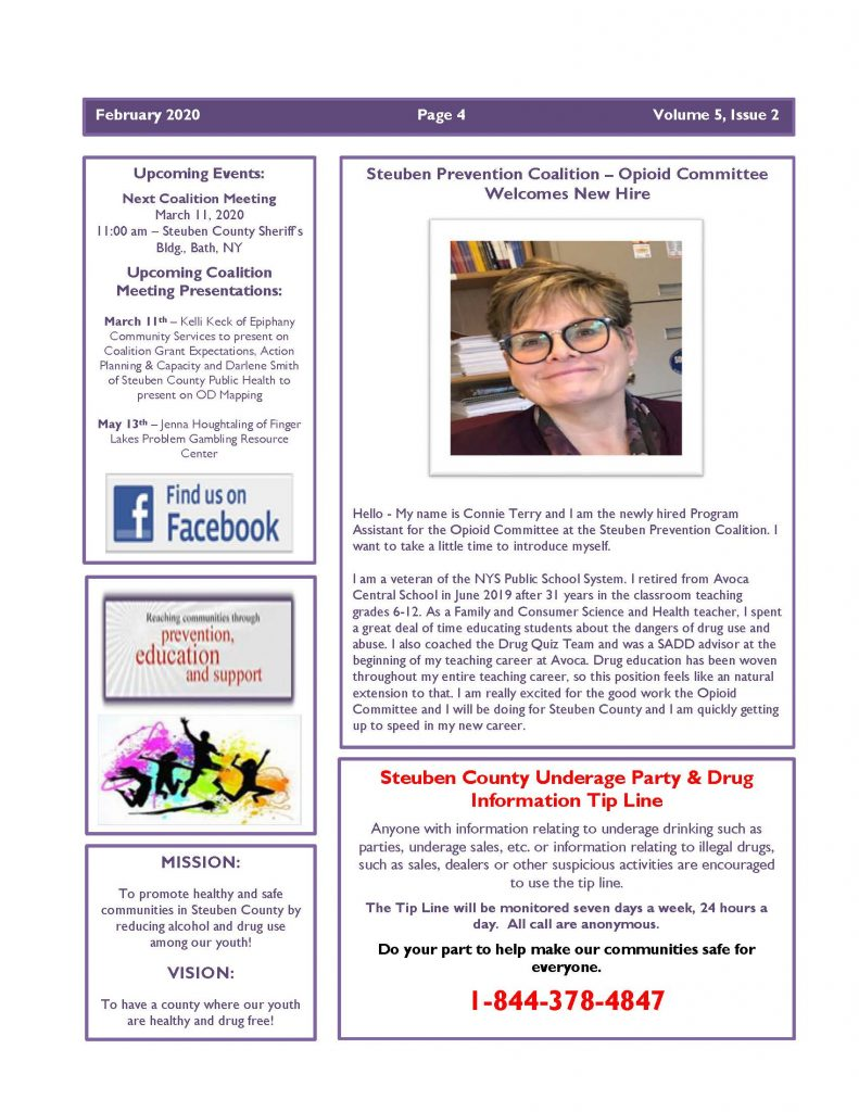 Feb 2020 Newsletter Page 4 791x1024 - Steuben Prevention Coalition - Ounce of Prevention (February)