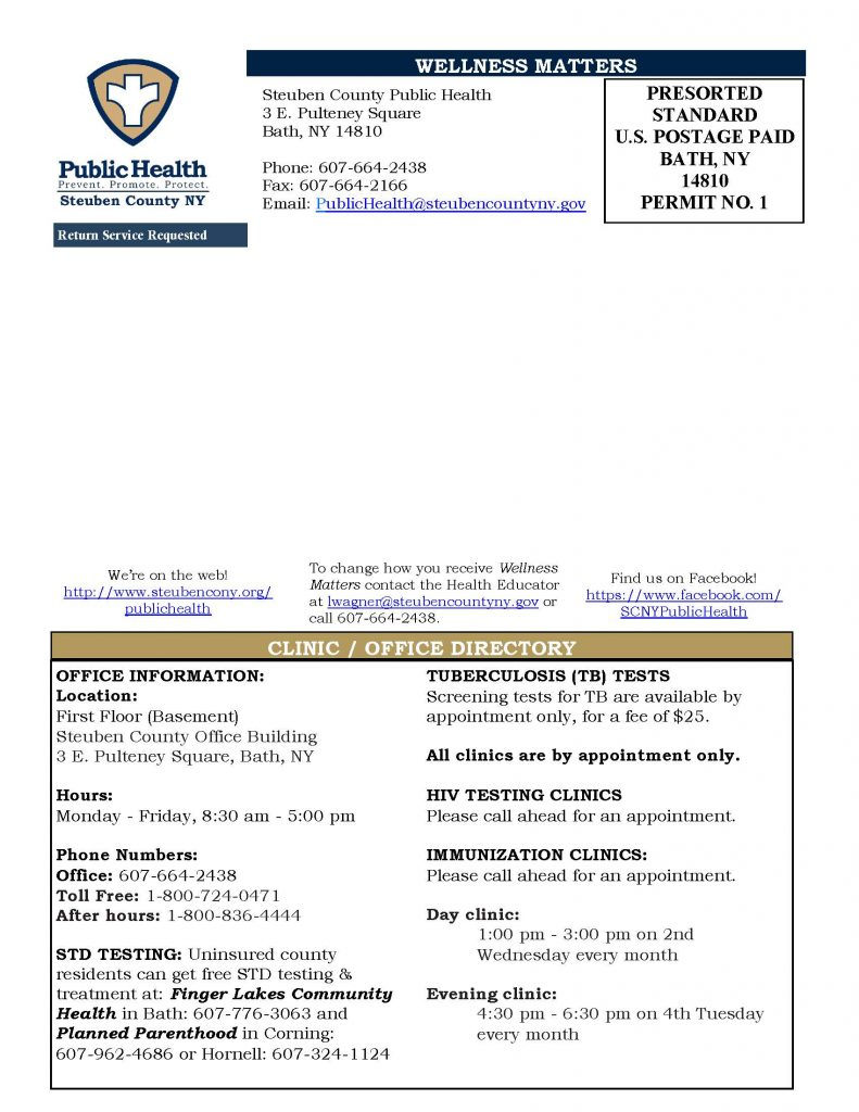 Feb Mar 20 Wellness Matters Page 4 791x1024 - Steuben County Pubic Health Wellness Matters (Feb./March)