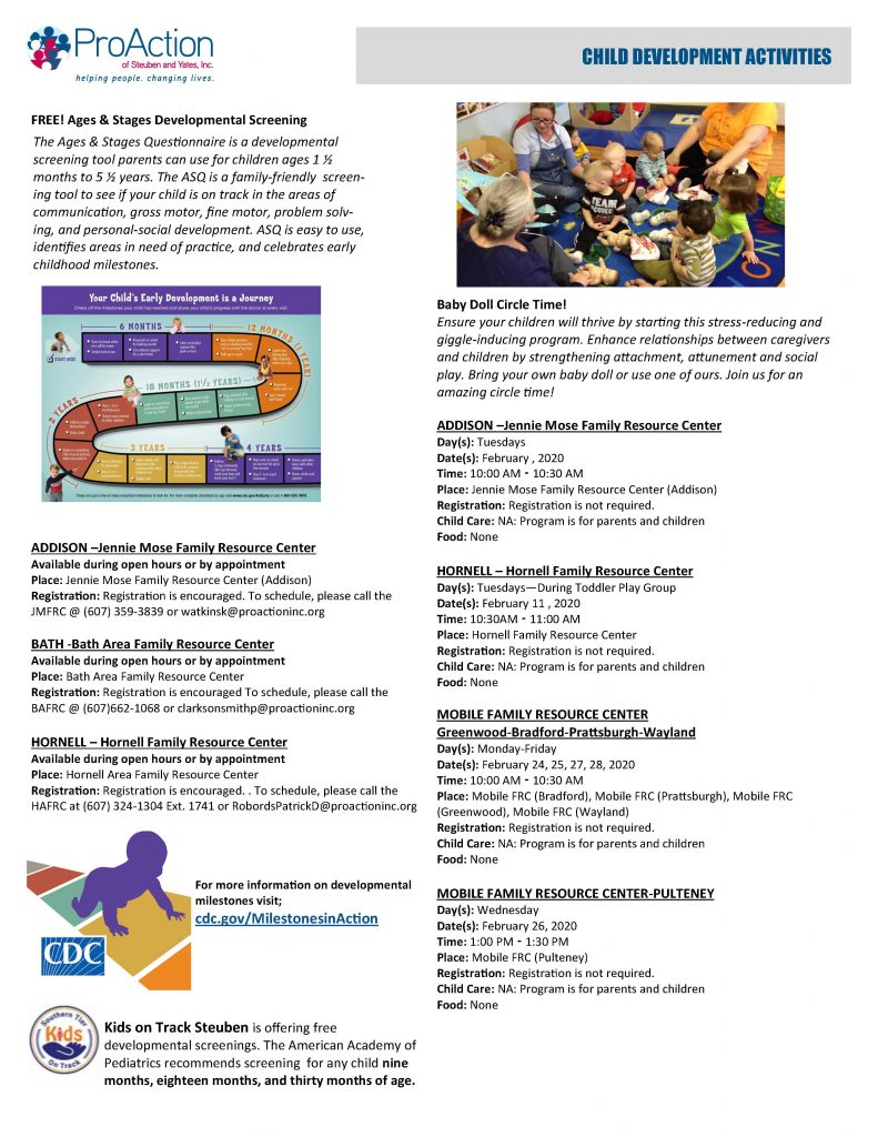 February 2020 Resilient Children and Families Community Calendar Page 2 791x1024 - Bath Area Family Resource Calendar (Feb.)