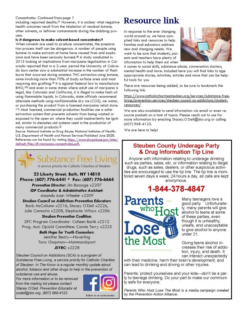 February Page 2 1 791x1024 - Steuben Council on Addictions - In the Know (February)