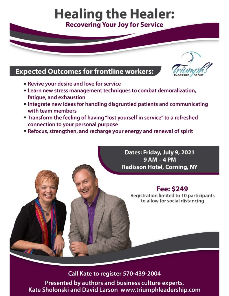 Healing the Healer flyer July 2021 791x1024 - Professional Development Opportunities from Triumph Leadership Group