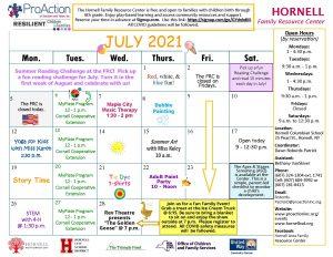 Hornell FRC July Calendar 2021 300x232 - Hornell FRC July Calendar 2021