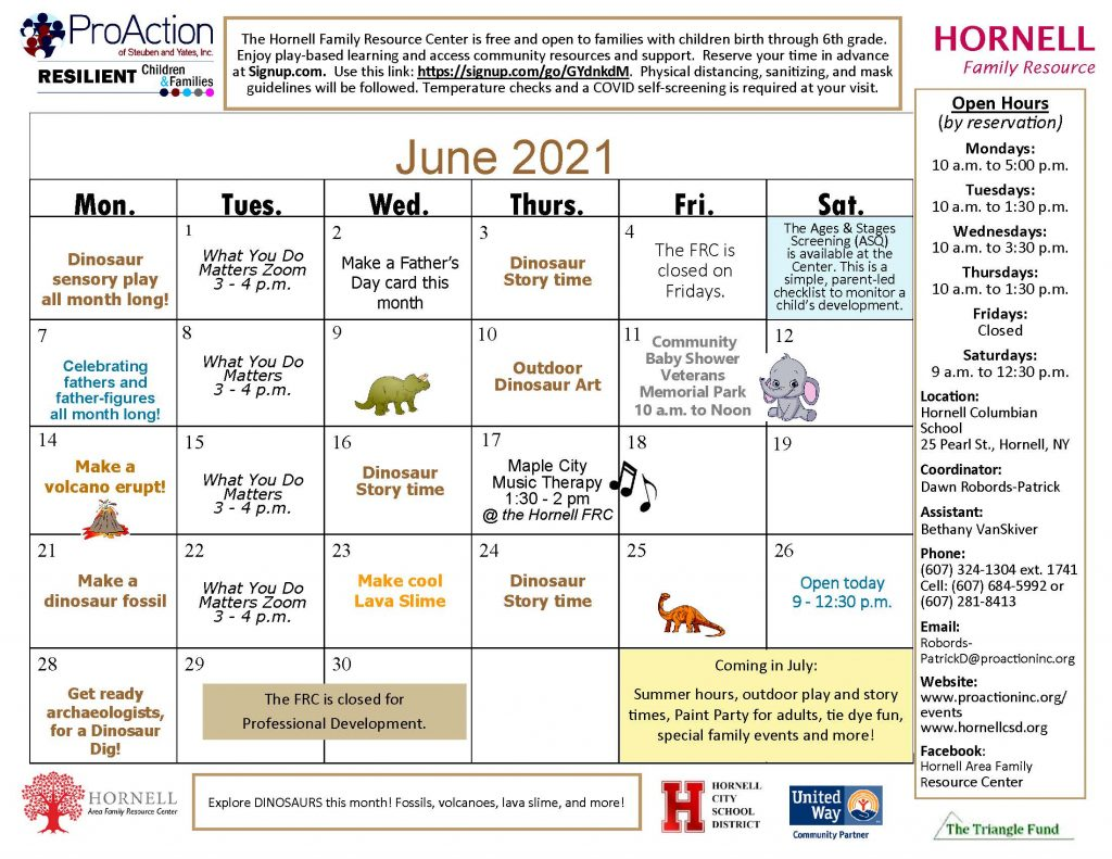 Hornell FRC June Calendar 2021 1024x791 - ProAction Family Resource Center Calendars (June)