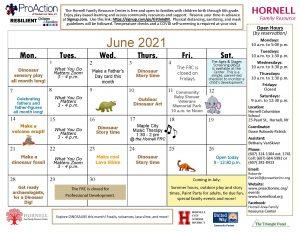 Hornell FRC June Calendar 2021 300x232 - Hornell FRC June Calendar 2021