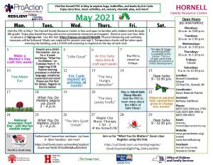 Hornell FRC May Calendar 2021 300x232 - Hornell FRC May Calendar 2021