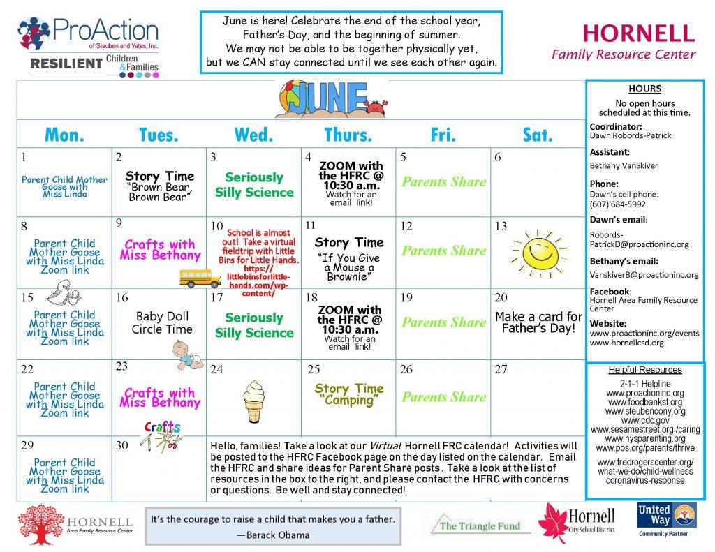 Hornell FRCCalendar June 2020 1024x791 - Hornell Family Resource Center Calendar