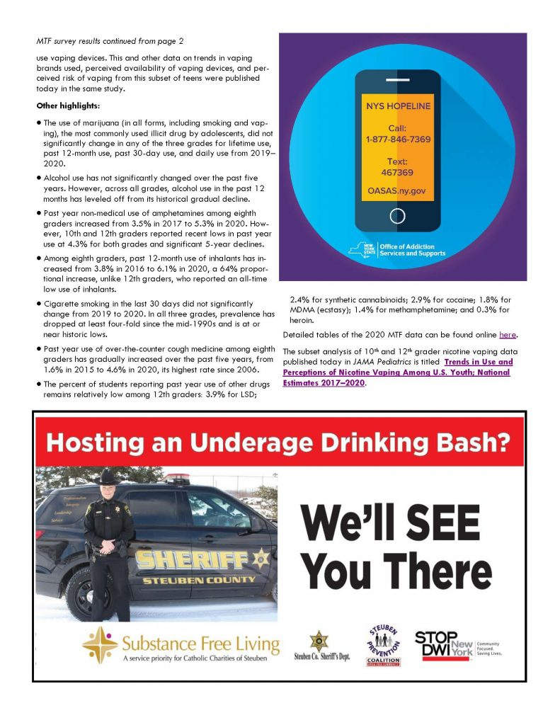 January 1 Page 2 791x1024 - Steuben Council on Addictions - In the know (January)