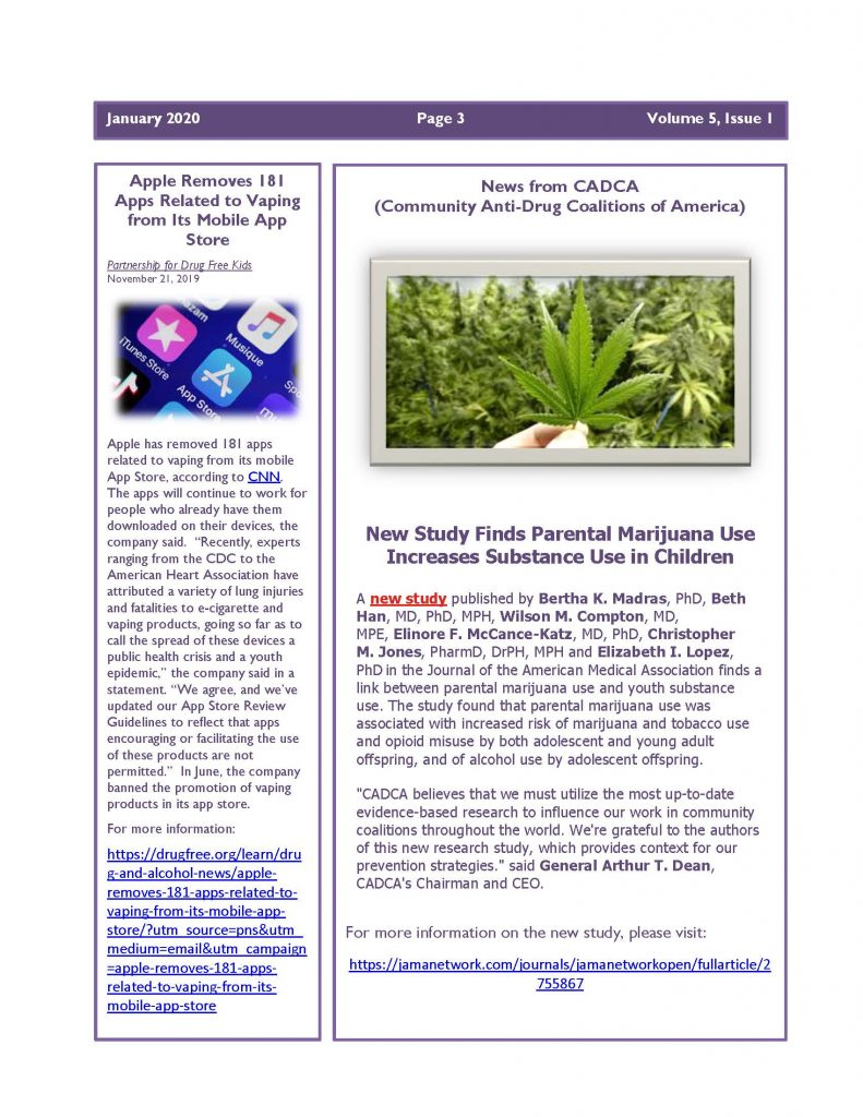 January 2020 Newsletter Page 3 791x1024 - Steuben Prevention Coaliton - Ounce of Prevention Newsletter
