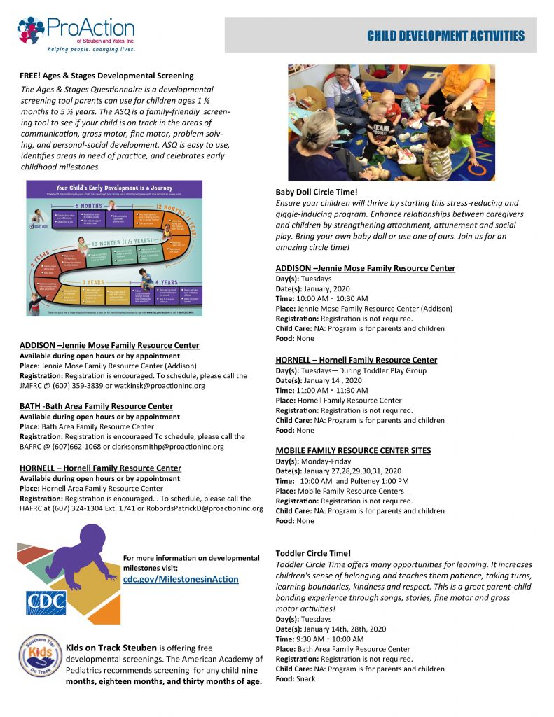 January 2020 Resilient Children and Families Community Calendar Page 2 791x1024 - ProAction Resilient Children and Families Calendar