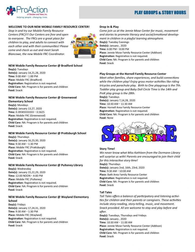 January 2020 Resilient Children and Families Community Calendar Page 3 791x1024 - ProAction Resilient Children and Families Calendar