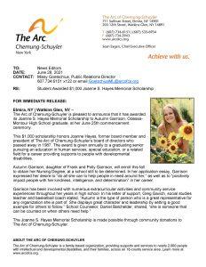Joanne Hayes Scholarship Award Autumn Garrison 232x300 - Joanne Hayes Scholarship Award - Autumn Garrison