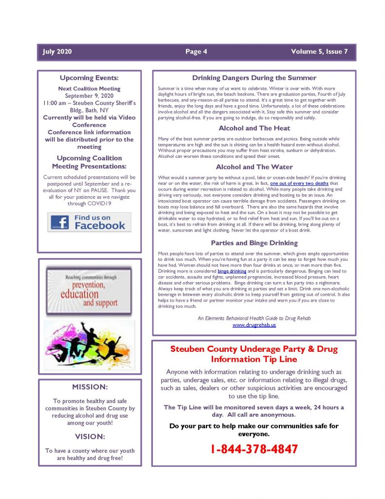 July 2020 Newsletter Page 4 791x1024 - Steuben Prevention Coalition - Ounce of Prevention (July)