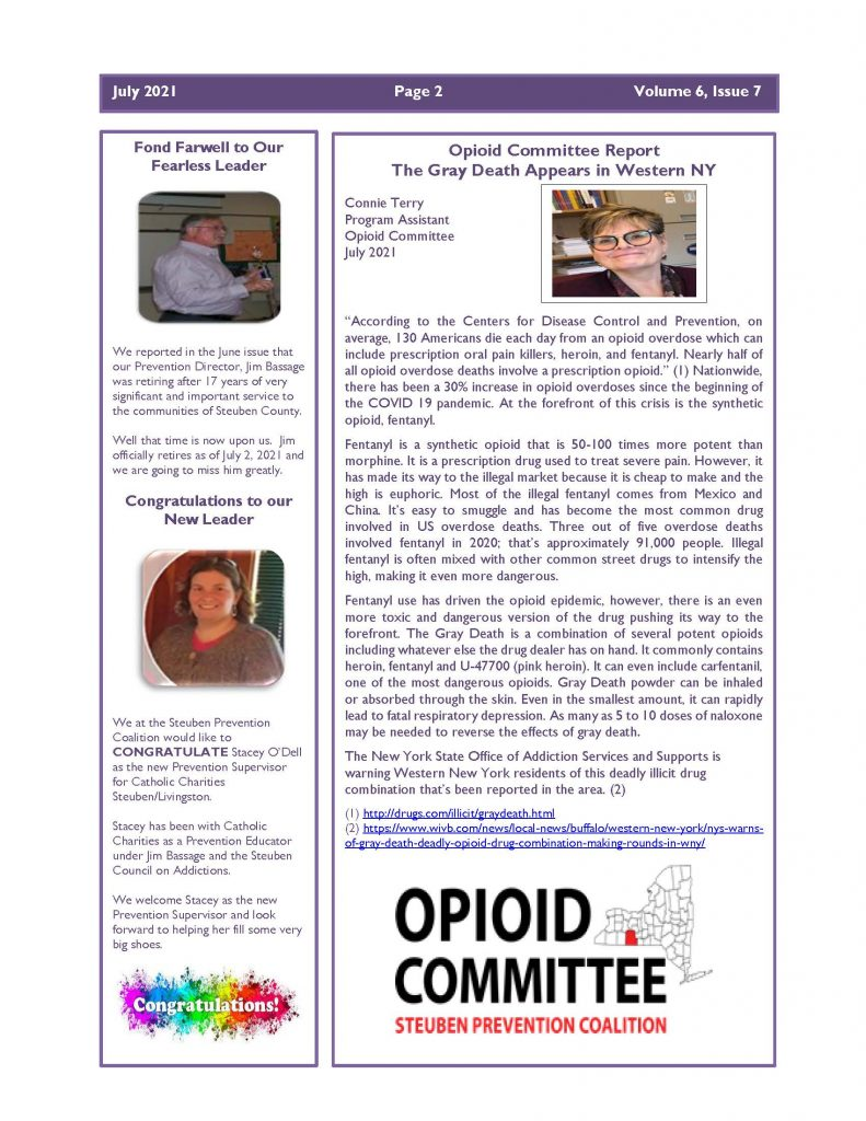 July 2021 Newsletter Page 2 791x1024 - Steuben Prevention Coalition - In the Know (July)